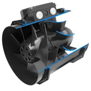 200mm Systemair Revolution Stratos Fans 3