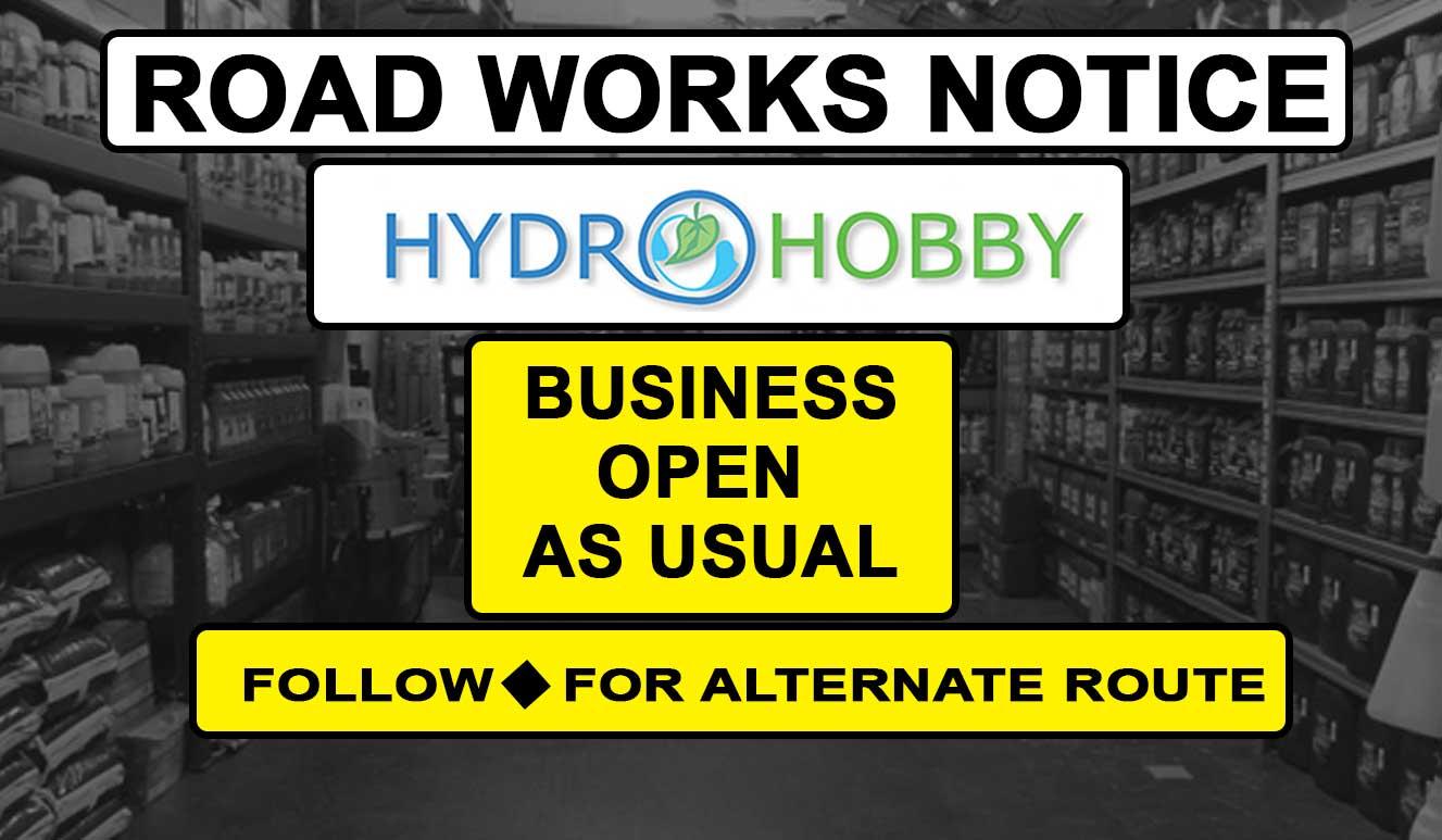 Roadworks Notice 2020