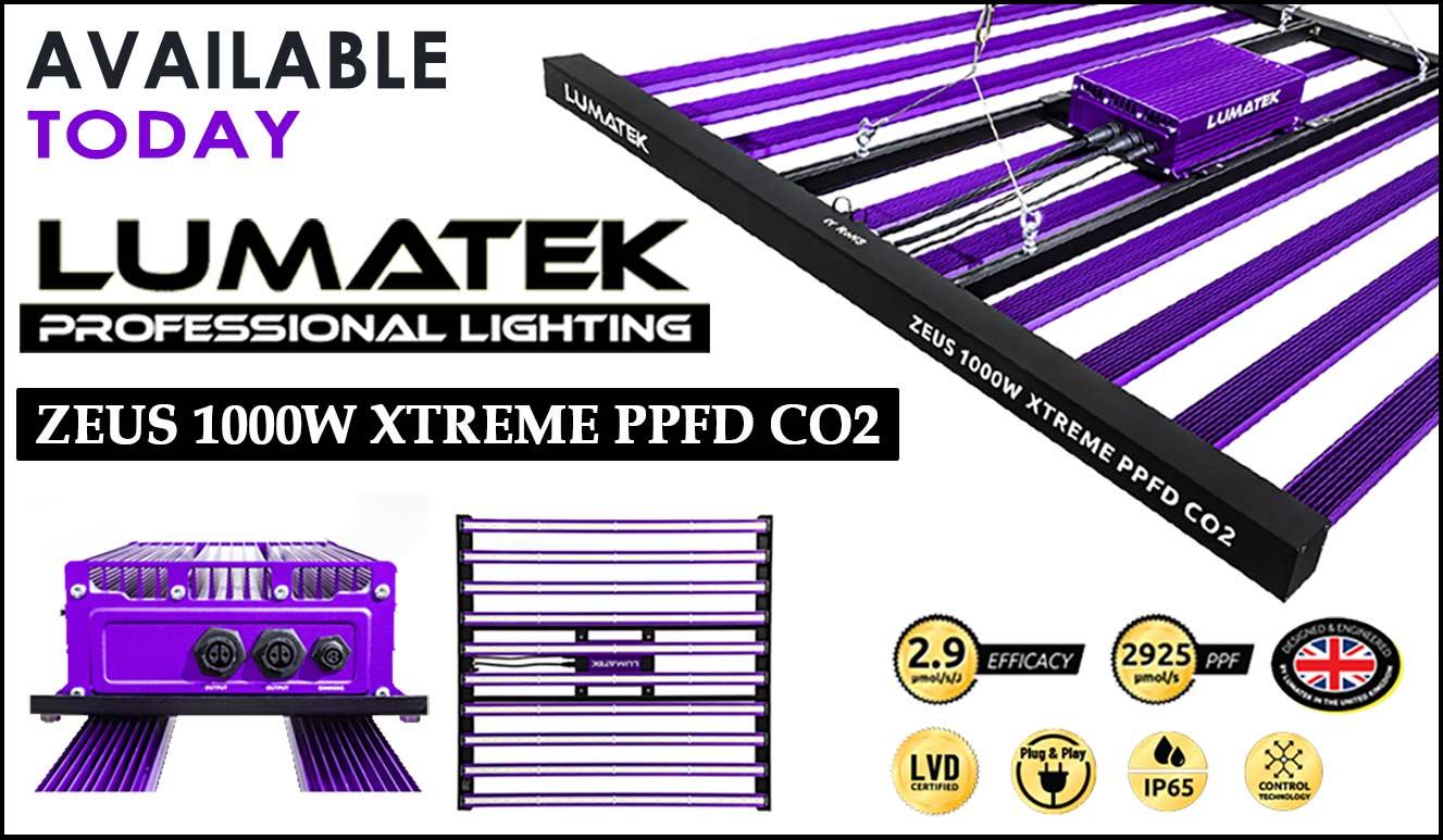 Lumatek 1000W Xtreme CO2 LED Grow Light