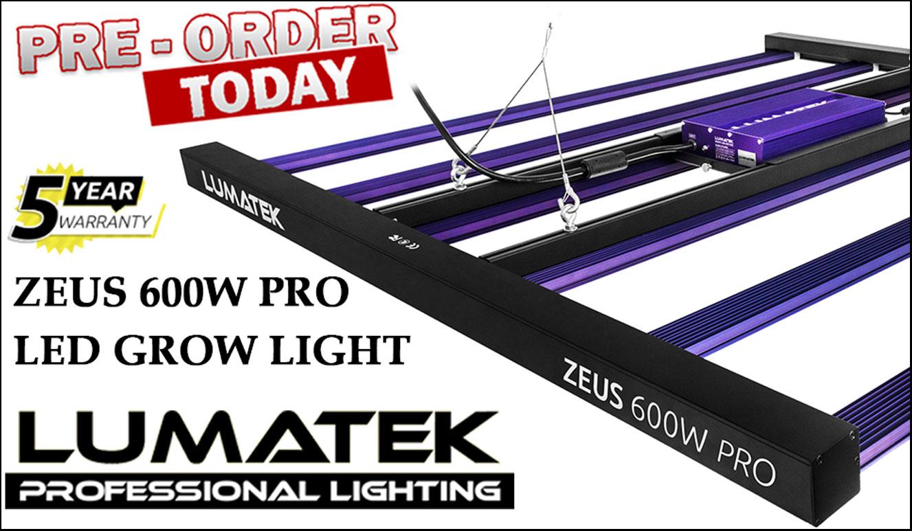 Lumatek Zeus 600w PRO LED Grow Light