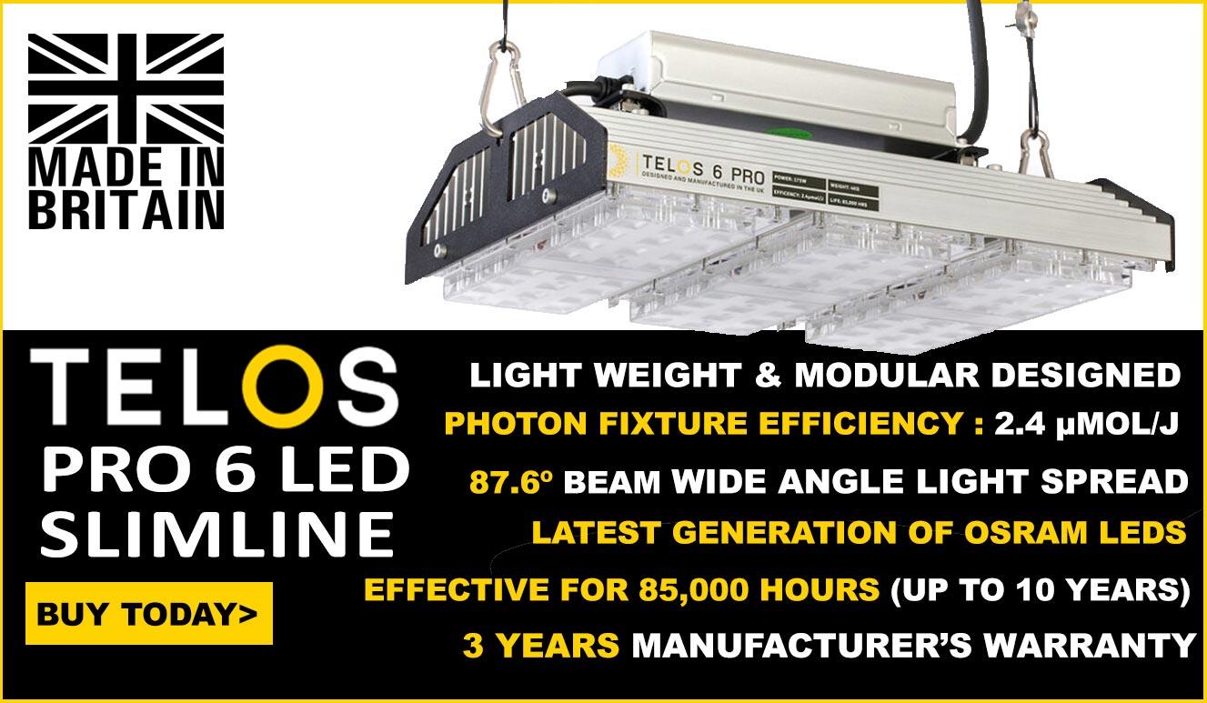 Telos PRO 6 LED Grow Light