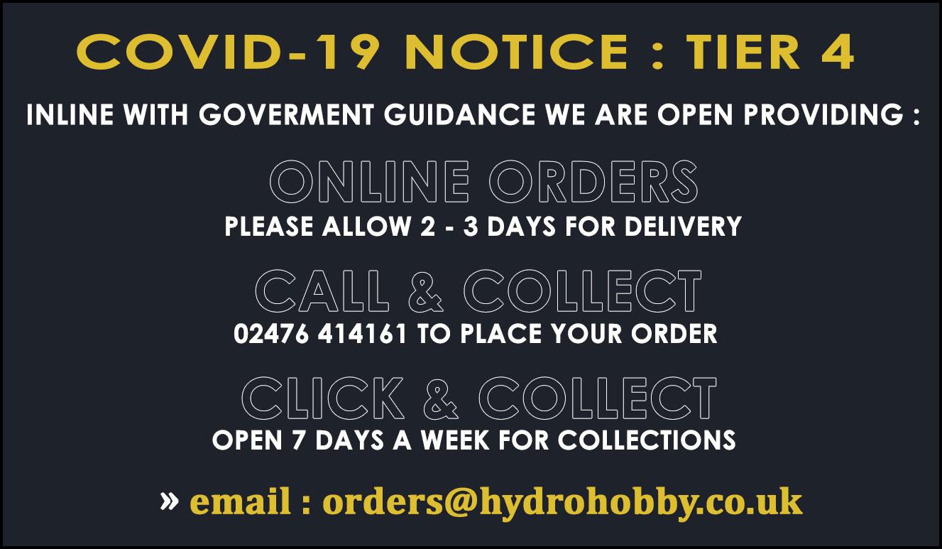 Tier 4 Covid Store Services